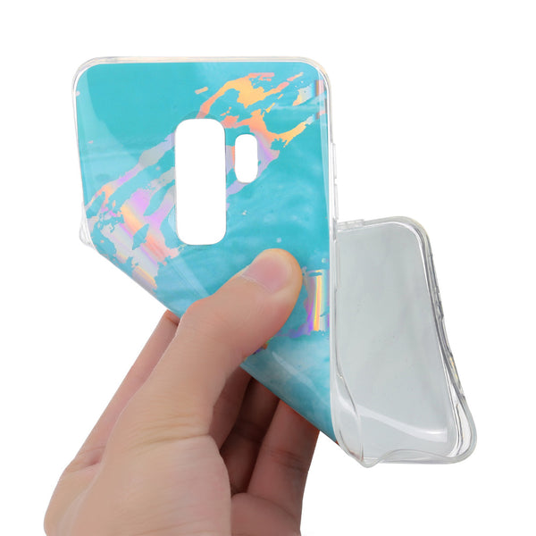 Laser Marble Texture Case