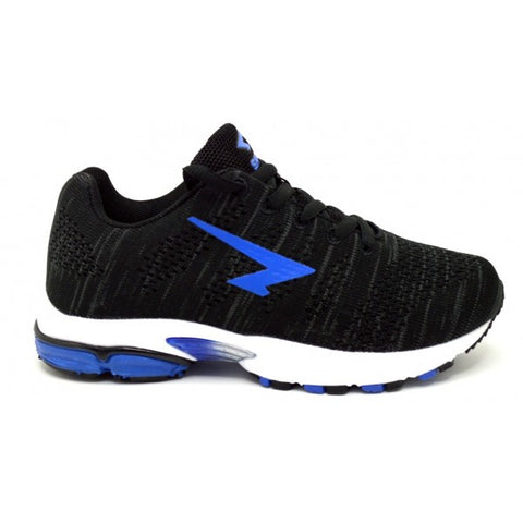 SFIDA Black/Blue Transfuse Kids Sports Shoes | Blitzsports.com.au