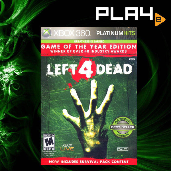 XBox 360 Left 4 Dead (Game of the Year Edition)