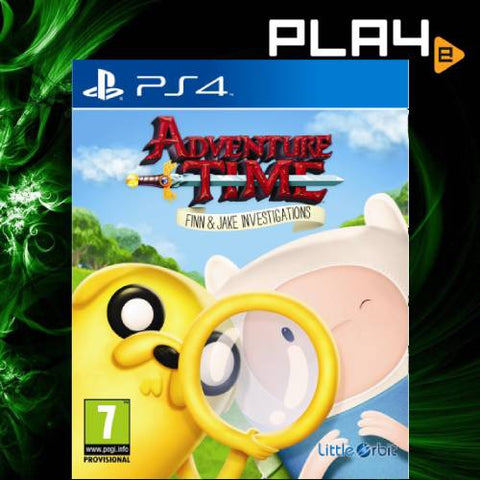 PS4 Adventure Time Finn & Jake Investigations