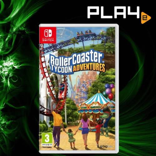 Nintendo Switch Rollercoaster Tycoon Adventure