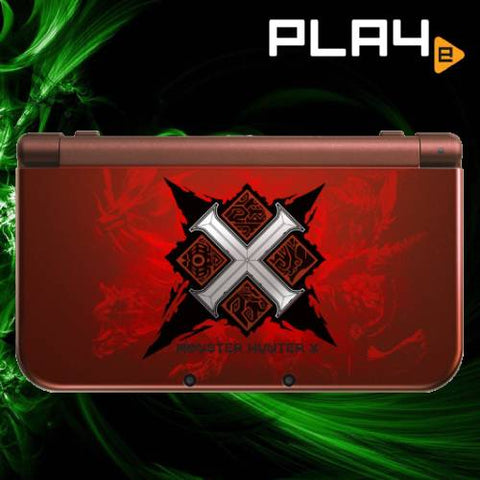 3DS New LL Monster Hunter X Console (JAP)