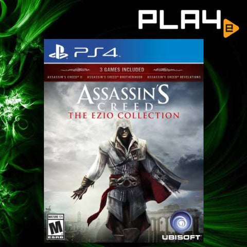PS4 Assassin's Creed The Ezio Collection (R1)