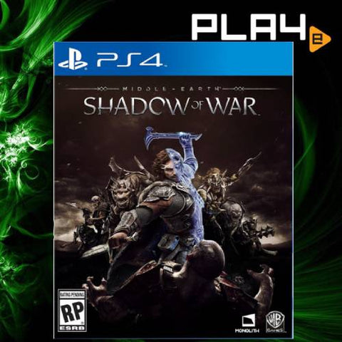 PS4 Middle Earth Shadow Of War (R3)