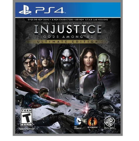 PS4 Injustice God Among Us Ultimate Edition (Region 1)