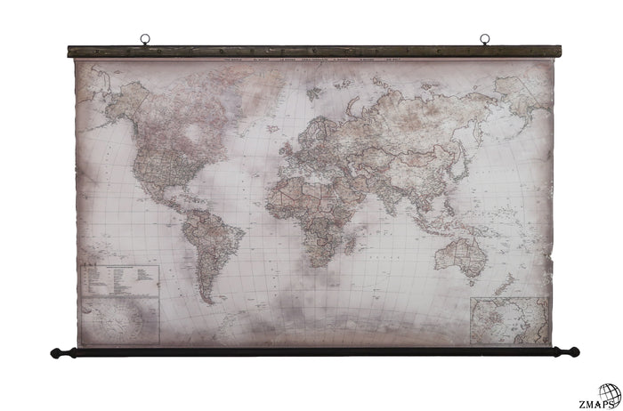 "Magical modern map, 70""x43"", 180x110cm"