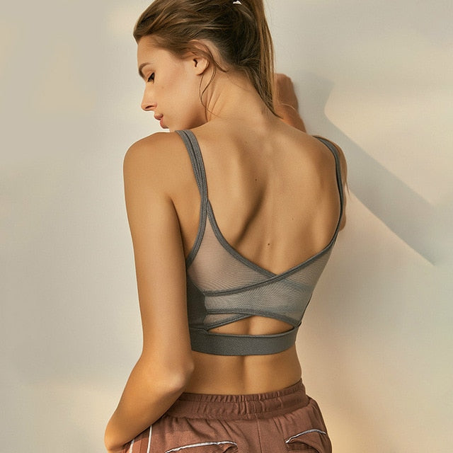 'Backless' Fitness Top