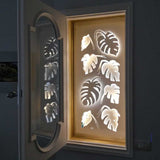 Monstera screen lasercut window decoration