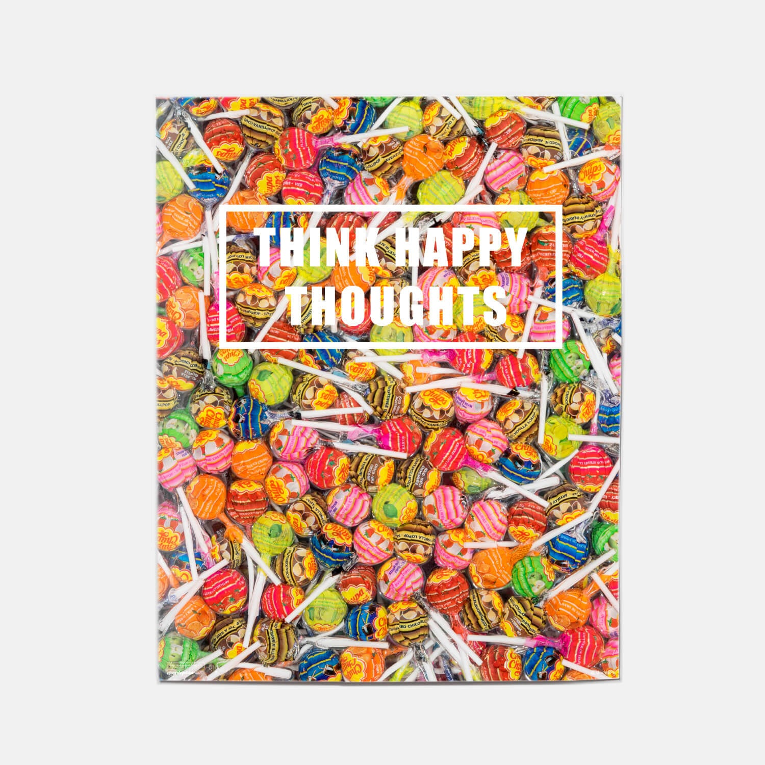 happy thoughts print by by robynblair - 16x20 | wall