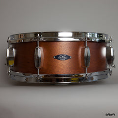 C&C / Player Date 1 snare / 5.5 x 14 / Brown Satin Mahogany