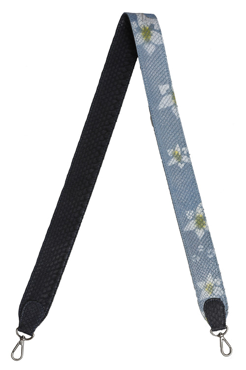 Asher Strap in Navy and Floral