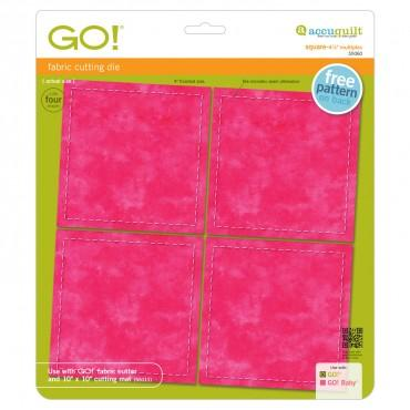 "Accuquilt Go! Square 4 1/2"" - Multiples - Finishes at 4"" - 55060"