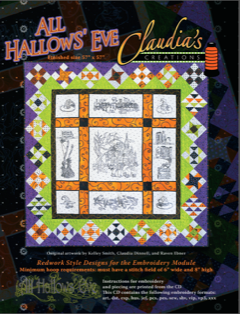 All Hallow's Eve Quilt by Claudia's Creations**