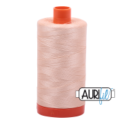Aurifil - 50wt Cotton Mako Thread  - Apricot #2205