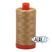 Aurifil - 50wt Cotton Mako Thread  -  Light Brass #2920