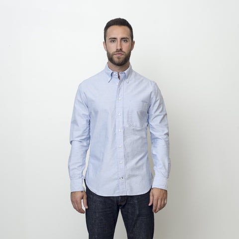 Gitman Vintage Blue Oxford