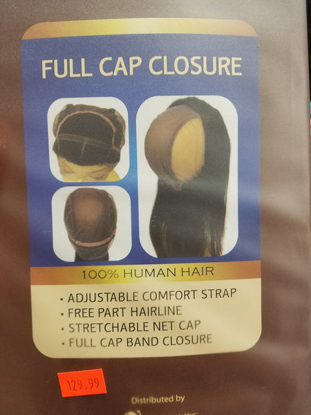 "Elegante 360 Frontal Lace Closure 4""x13"" - Full Cap Closure"