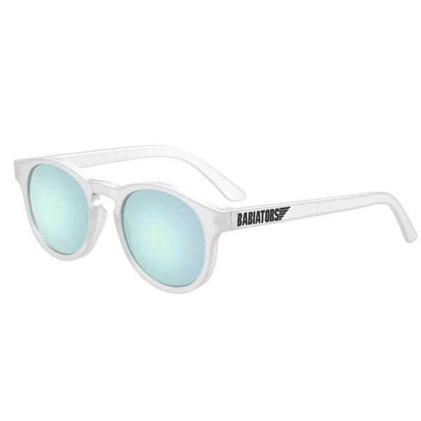 The Jet Setter: Transparent Polarized Sunglasses