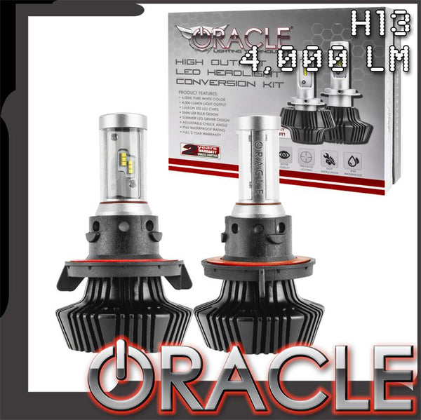 ORACLE 2018-2019 Jeep Wrangler JL LED Bulb Headlight Conversion Kit