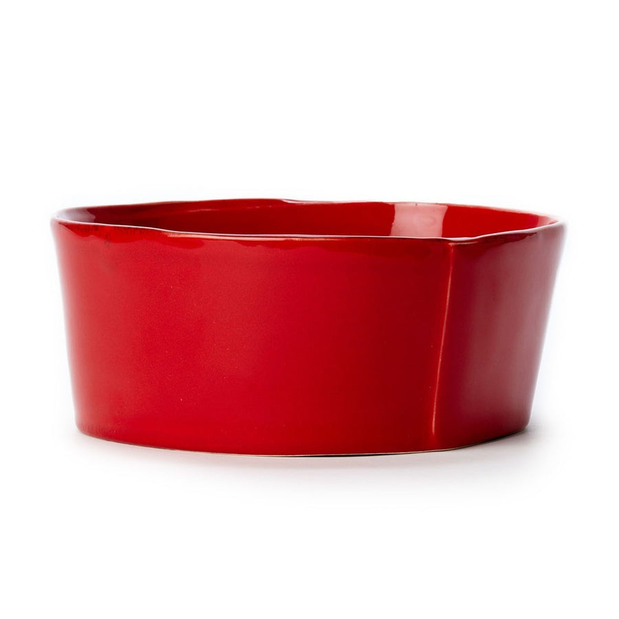 VIETRI: Lastra Red Medium Serving Bowl