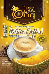ONG Musang King Durian White Coffee.