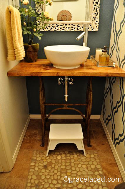 Guest Bath Remodel, Part 3 {The Reveal!}