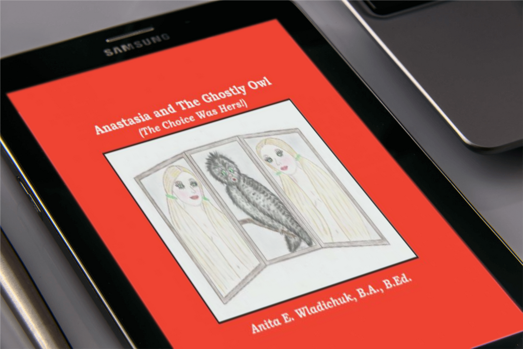 Anastasia and The Ghostly Owl (The Choice Was Hers!) - PDF Only