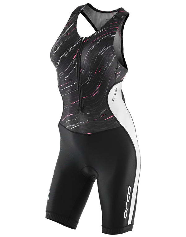 Orca Womens Core Tri Suit - Black and White