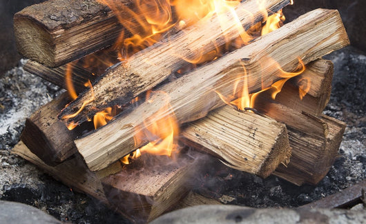 Open Outside Fire, Wood and Kindling Matches Package