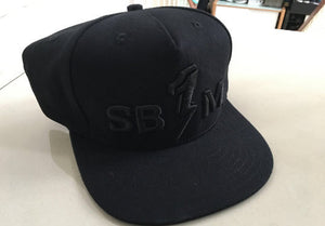 Hat Black SB1M Thunder Logo Black