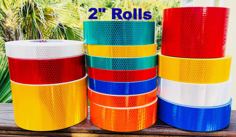 High intensity prismatic type 4 reflective tape