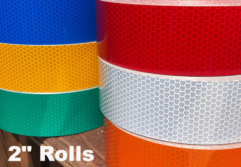 White Yellow Blue High Intensity Reflective Type 3 Tape