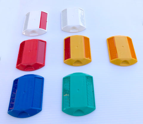 C80 Stimsonite Reflective Road Markers (MARKERS ONLY)