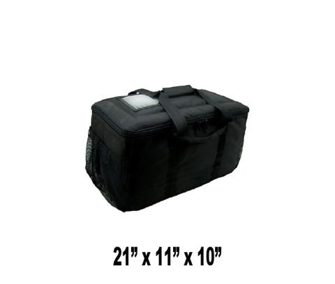 UP-SMSBS - Small Hot or Cold Insulated Food Delivery Bag (Packed 2 Per Case -- Unit Price: $43.99) - Ultimate Pizza Bag