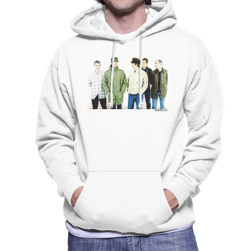 Oasis Band Noel Liam Gallagher Men's Hooded Sweatshirt - Don't Talk To Me About Heroes