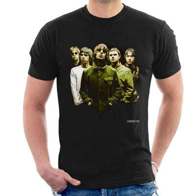 Oasis Band Liam Noel Gallagher Men's T-Shirt - Don't Talk To Me About Heroes