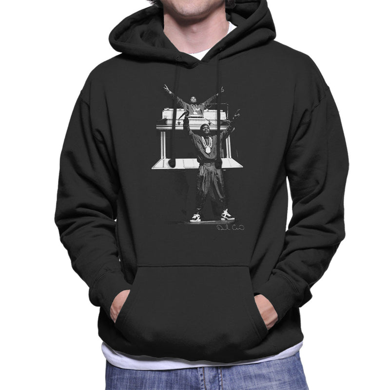 Eric B and Rakim Hammersmith Odeon 1987 Men's Hooded Sweatshirt - Don't Talk To Me About Heroes