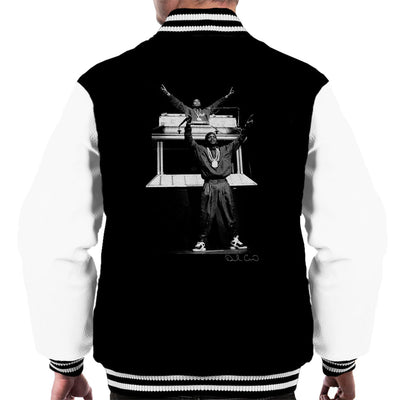 Eric B and Rakim Hammersmith Odeon 1987 Men's Varsity Jacket - Don't Talk To Me About Heroes