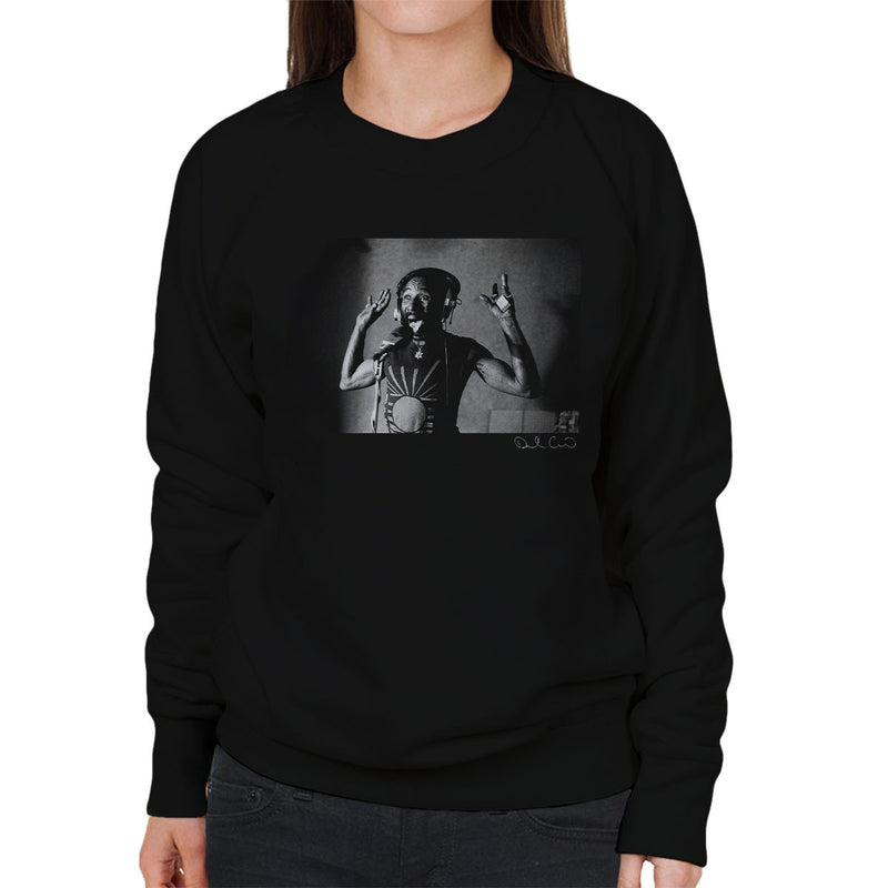 Lee Scratch Perry Jungle Lion Studio 1980 Women's Sweatshirt - Don't Talk To Me About Heroes