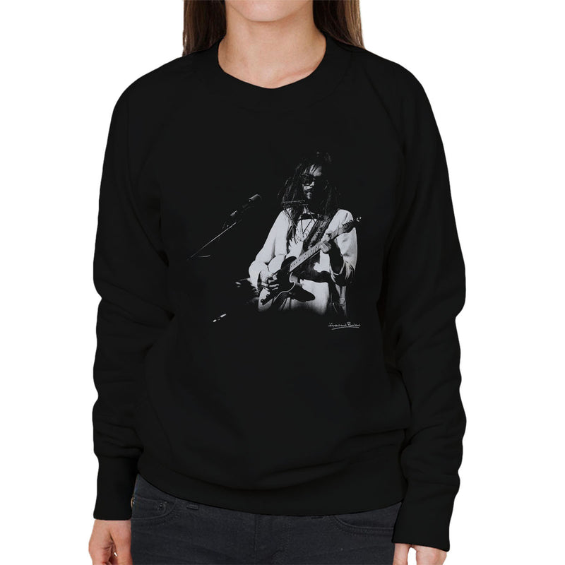 Neil Young Manchester Palace 1973 Women's Sweatshirt - Don't Talk To Me About Heroes