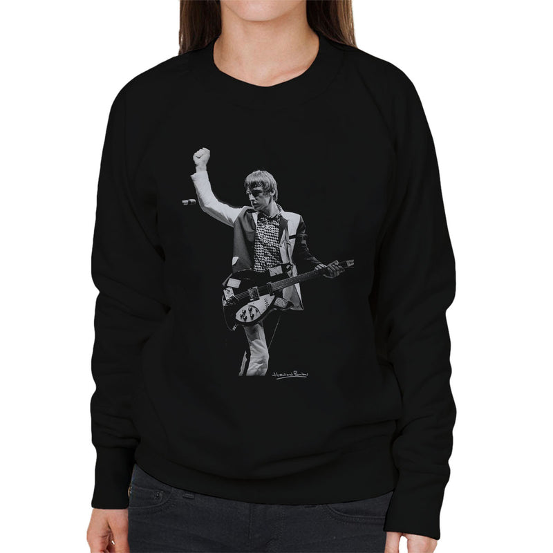 The Jam Paul Weller Manchester Apollo Women's Sweatshirt - Don't Talk To Me About Heroes