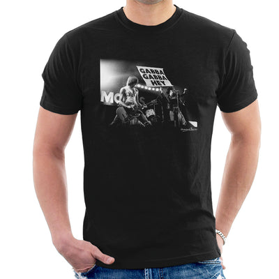 The Ramones Gabba Gabba Hey Manchester Apollo 1977 Men's T-Shirt