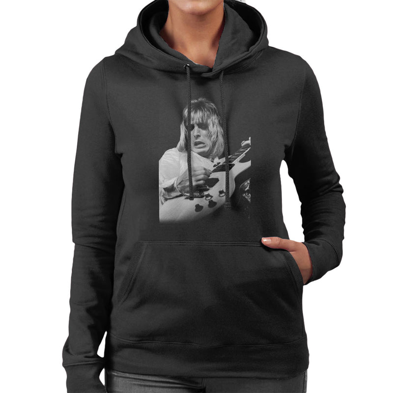 Mick Ronson Spiders From Mars David Bowie Women's Hooded Sweatshirt