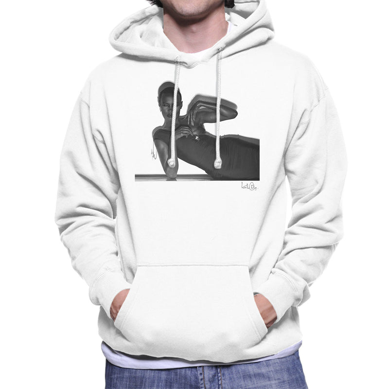 Grace Jones 1974 Men's Hooded Sweatshirt