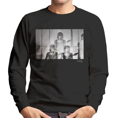 Rolling Stones Keith Richards Guitar Men's Sweatshirt - Don't Talk To Me About Heroes