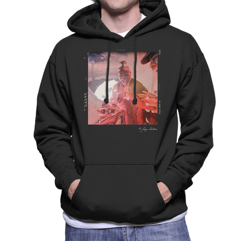 Biz Markie Goin Off Album Cover Men's Hooded Sweatshirt