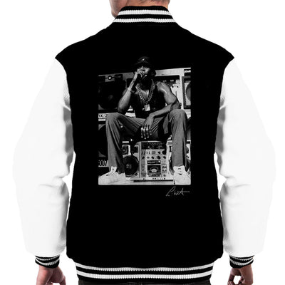 LL Cool J Performing 1980s Men's Varsity Jacket