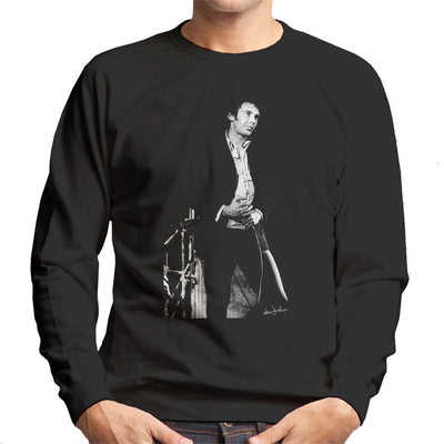 Lee Brilleaux Of Dr Feelgood At Friars 1975 Men's Sweatshirt - Don't Talk To Me About Heroes