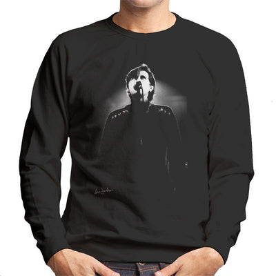 Bryan Ferry Of Roxy Music Rainbow Theatre London 1974 Men's Sweatshirt - Don't Talk To Me About Heroes