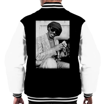 Stevie Wonder London Interview 1974 Men's Varsity Jacket